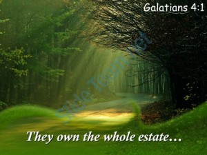 galatians_4_1_they_own_the_whole_estate_powerpoint_church_sermon_Slide01